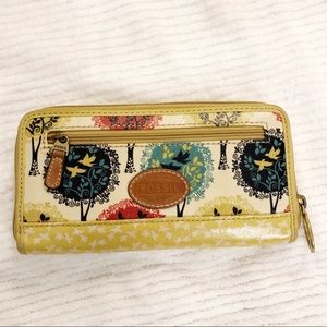 FOSSIL Coated Canvas Long Wallet
